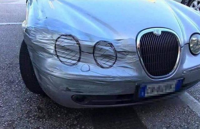 Подборка автомобильных приколов ...