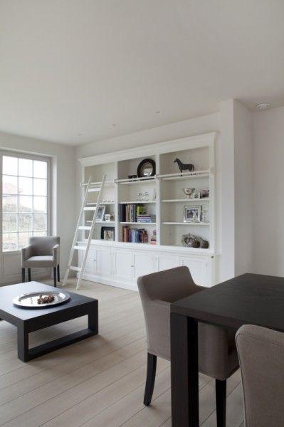White Memories: Ambient natural en una casa belga