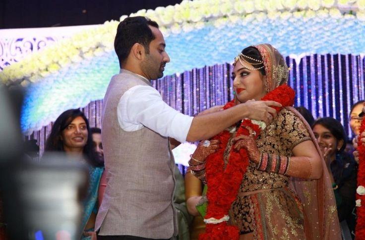 Nazriya – Fahadh Marriage Stills