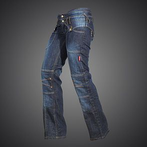 4SR Kevlar Jeans features adjustable cutting-edge Betac knee protectors fixed in our patented pocket system. A motorcycle jean with comfort and protection.