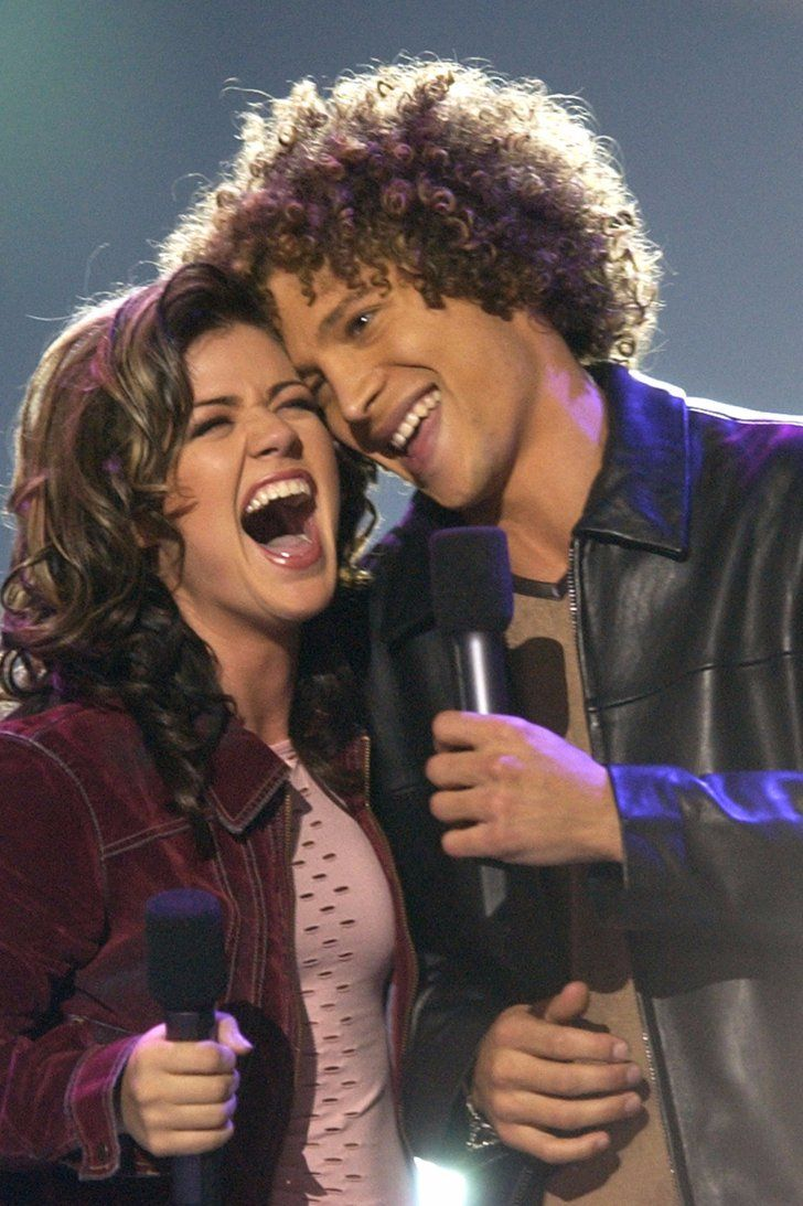 Kelly Clarkson Roasts Fellow American Idol Star Justin Guarini in an Election Day Tweet