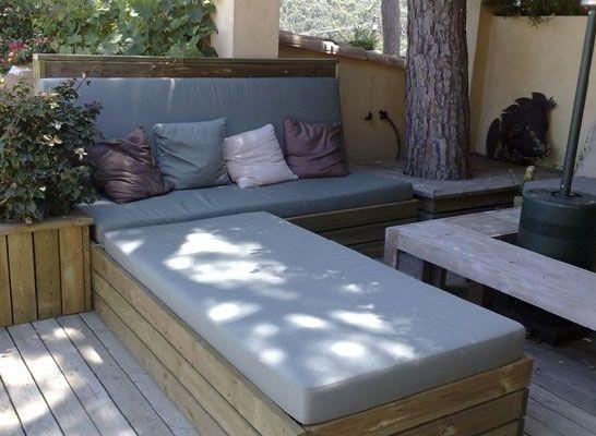Outdoor loungekussens