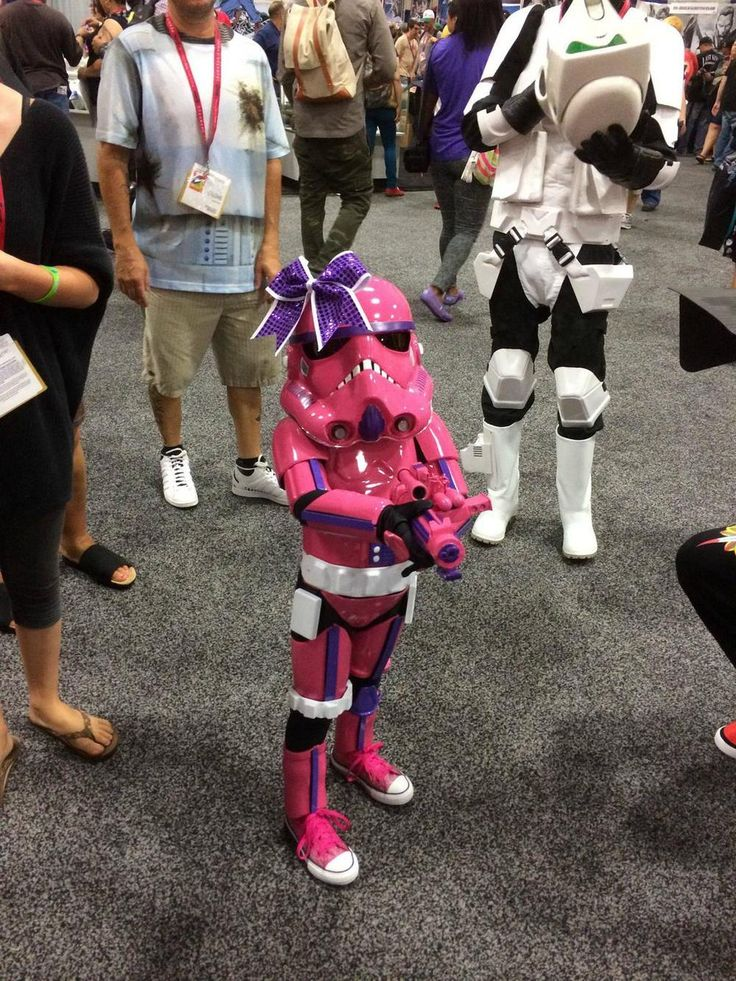 Adorable Pink Stormtrooper Cosplay (With images) Cosplay