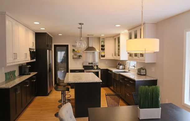 Check out this IKEA fan's classy RAMSJÖ kitchen on Share Space!