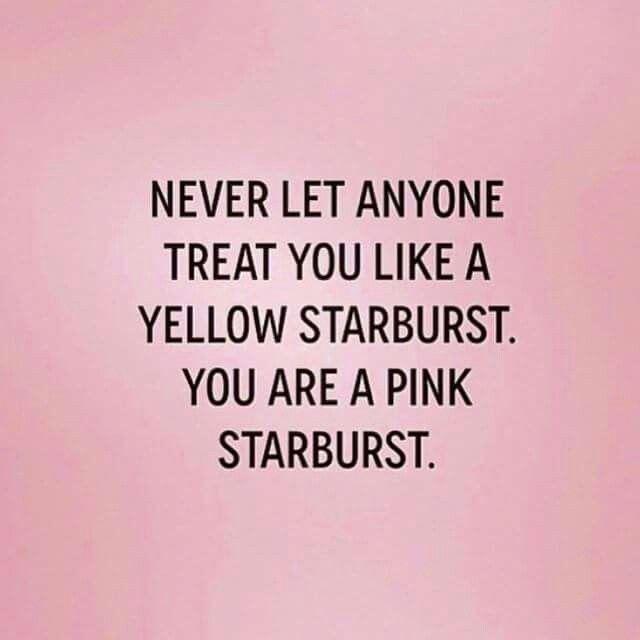 Funny Pinterest Quotes Inspirational: Bam! #pink #Starburst #YouAreEnough