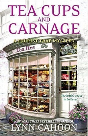TOUR: Tea Cups and Carnage (Lynn Cahoon). Reviewed by The Bookwyrm's Hoard.