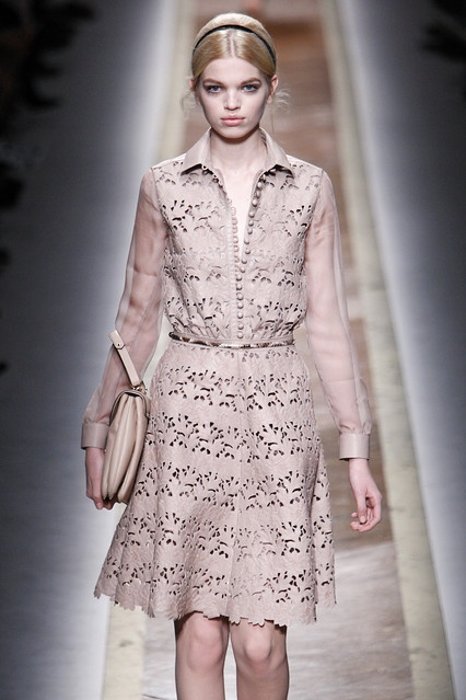 Leather Lace Valentino