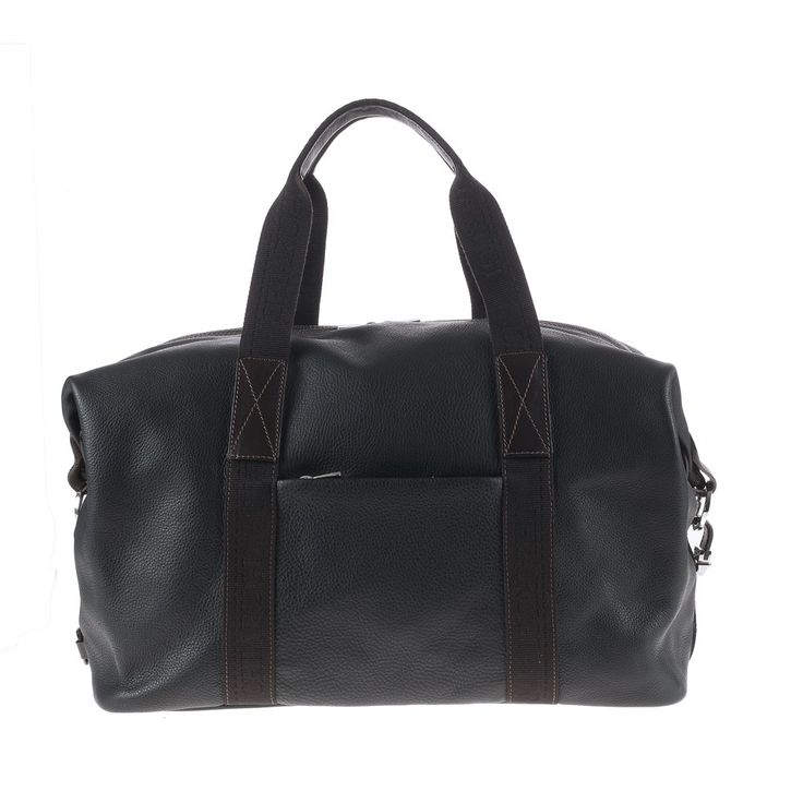 CHIARUGI - Borsa Viaggio 75527 blk #bags #leather #madeinitaly