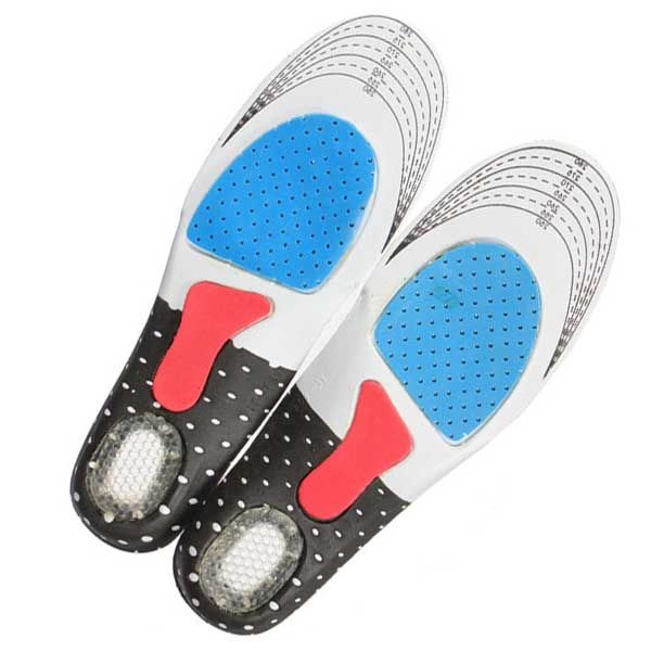 1 Pair Tamaño Libre Plantilla Unisex Ortopédicos Arch Support Deporte Pad zapatillas de Running Plantillas Gel Insertar Cojín para Hombres C532