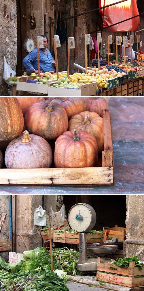 "market in Palermo I believe it is call ""A vucciria"""