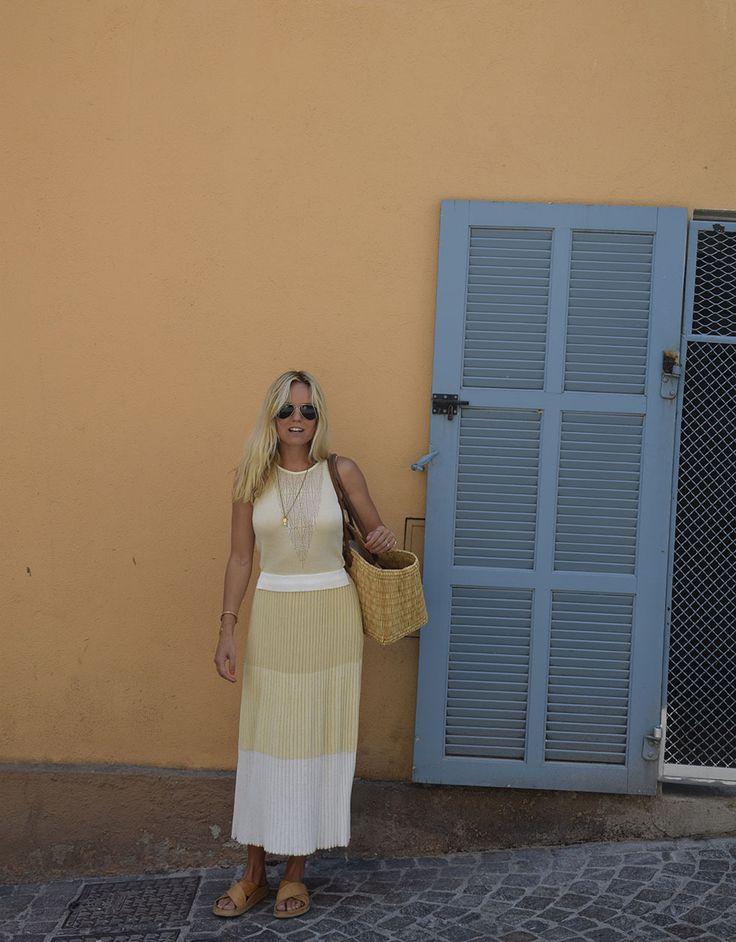 Sofi Fahrman in Dagmar dress.
