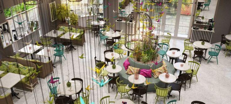 AUSSERGEWÖHNLICHES RESTAURANT  UND BAR DESIGN VON KITZIG INTERIOR DESIG |  苼果茶 | Pinterest | Restaurant Design, Room Ideas And Interiors