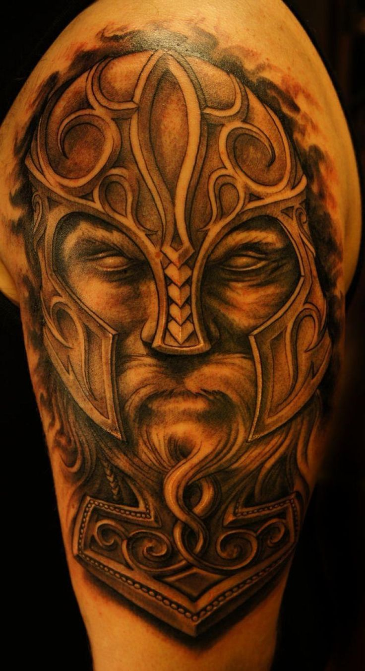 unique Tattoo Trends - 30 Gorgeous Viking Tattoos Designs Ideas Check more at http://tattooviral.com/tattoo-designs/tattoo-trends-30-gorgeous-viking-tattoos-designs-ideas/