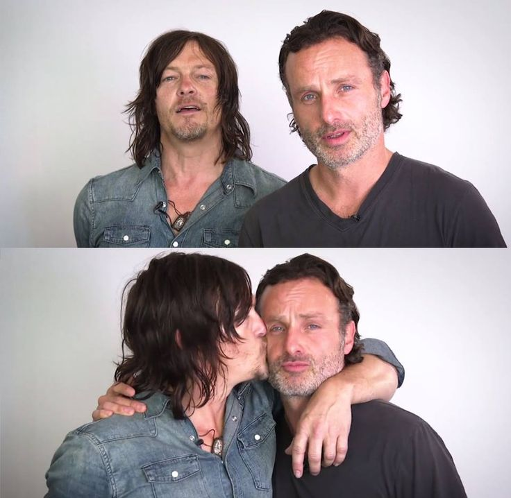 The Walking Dead: Norman Reedus and Andrew Lincoln                                                                                                                                                                                 More