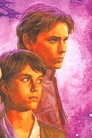 Anakin Solo and his brother Jacen during the start of the Yuuzhan Vong War.