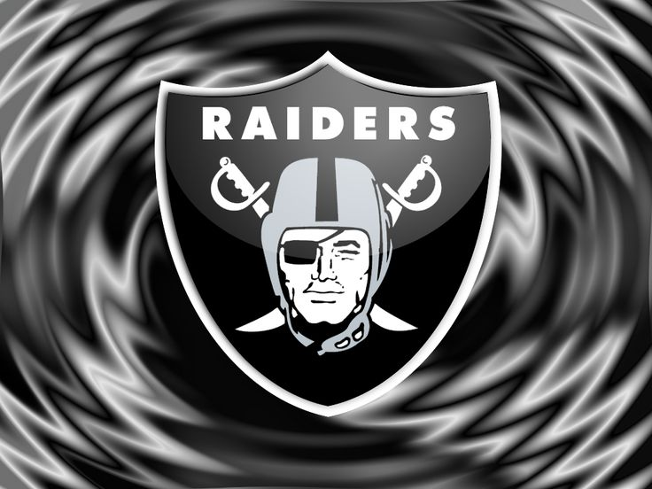 "Black and Silver Raiders | The Official ""Oakland Raiders' Silver and Black all up in yo mouf ..."