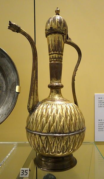 File:Ewer or tombak, Turkey, Ottoman dynasty, 18th century, gilded copper - Royal Ontario Museum - DSC04596.JPG