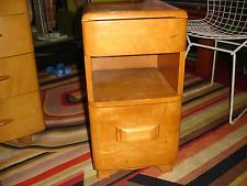Sold for $115 Oct.2015. Vintage Heywood Wakefield Night Stand Pick up San Francisco Bay Area Hayward