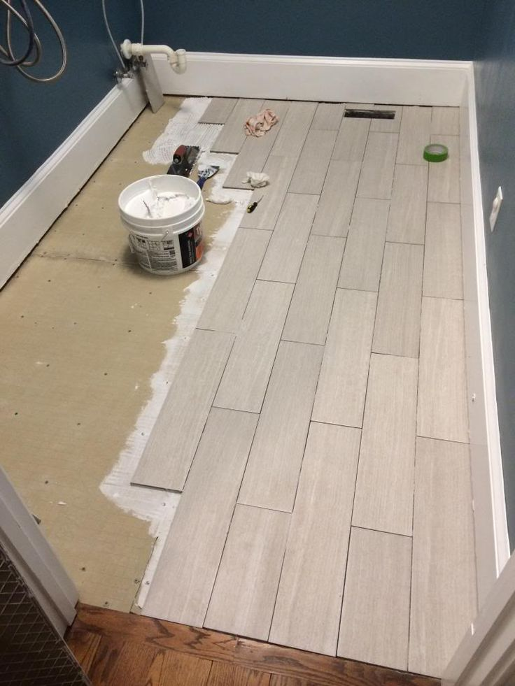 Finally A Floor Part 2 Laundry Room Tile Room Tiles