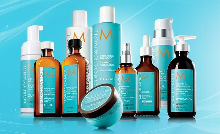 Gamme Moroccanoil