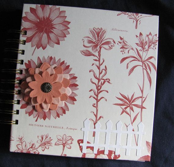 Handmade Garden Journal Log Notebook with by VintageIntent on Etsy