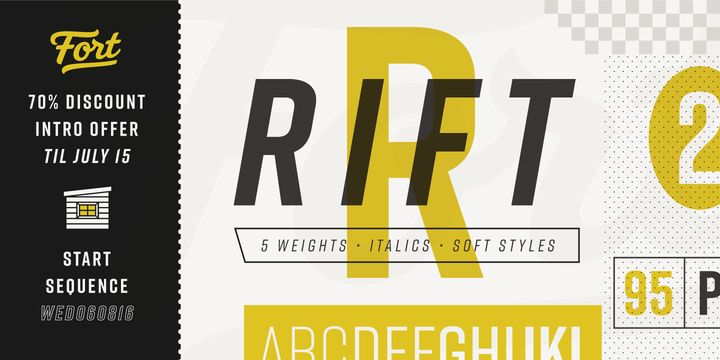 Rift - Webfont & Desktop font « MyFonts