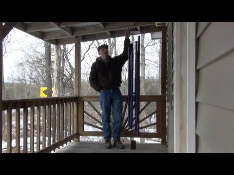 How to Make Tubular Bell Wind Chimes by Lee Hite - YouTube