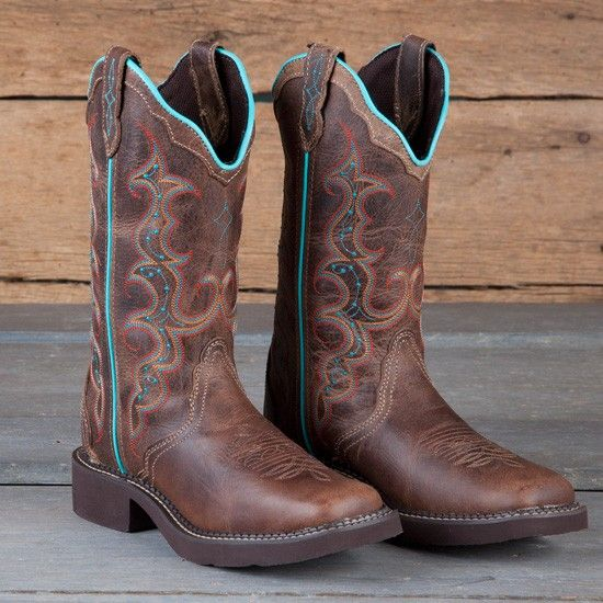 Justin Ladies' Tan Jaguar Gypsy Boots