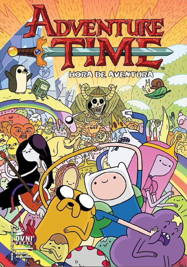 ¡Es hora de aventura! - Kaboom - Historietas y más