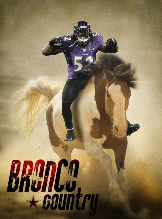 Here Are Three Pictures Of Ray Lewis Riding A Bronco