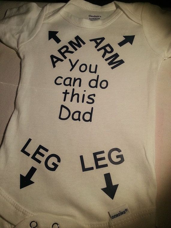Hahaha onesie for those first time dads