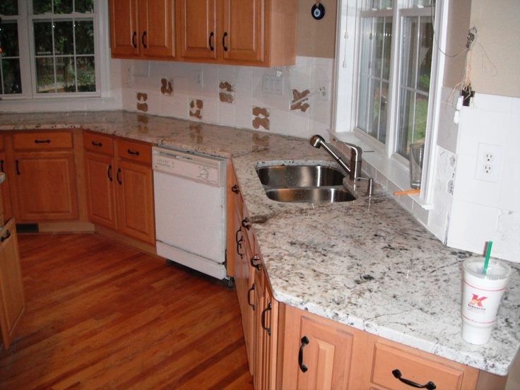 17 best images about granite light wood cabinets on for Charlotte kitchen cabinets