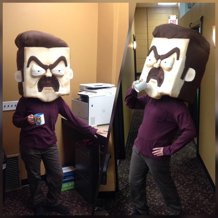 Ron Swanson Halloween costume