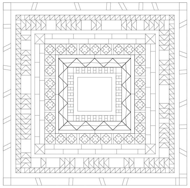 The Chicago Modern Quilt Guild: On the Blog: 2016 Medallion Quilt Along Instructions - JANUARY