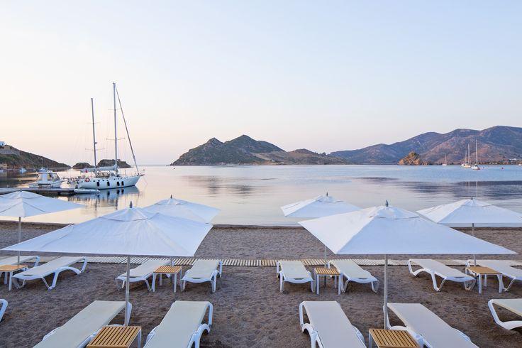 Sunset in Grikos, at Patmos Aktis Suites & Spa. Summery and relaxing.. Miss it? #patmos #patmosaktis