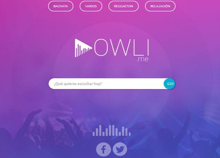 Owli es una nueva web para escuchar online, gratis y sin registro, toda la música que te gusta. Indica el título de la canción, grupo o artista y disfruta.