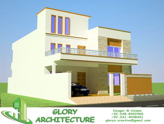 30x60 House Plan Elevation 3d View Drawings Pakistan House Plan Pakistan House Elevation 3d Elevation Glory My House Plans House Elevation 3d House Plans