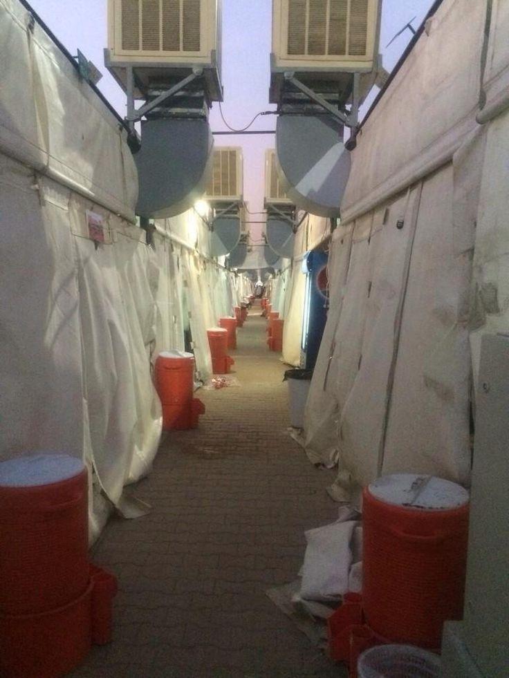 Mina 2014 [via @YusufMatadar] #Hajj