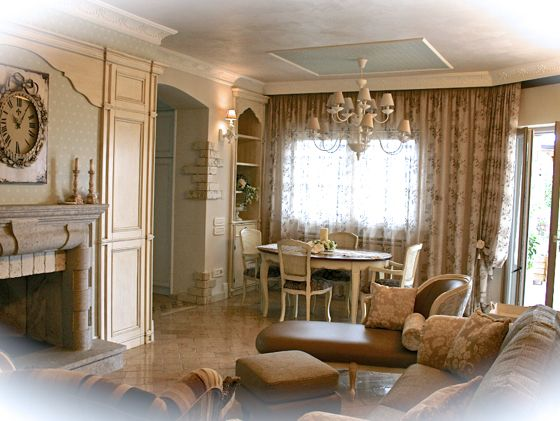 A wonderful living by Interiors.. <3
