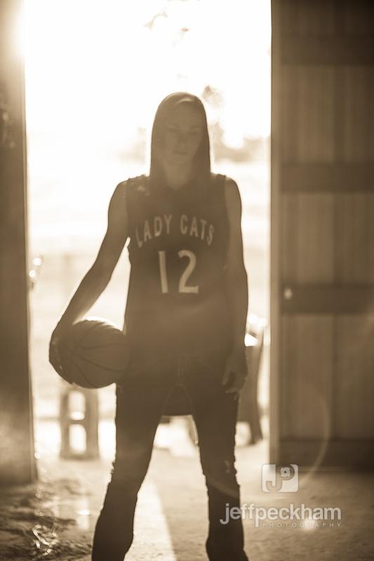 Senior basketball picture.