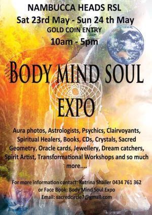 Body Mind Soul Expo at Nambucca Heads RSL Club