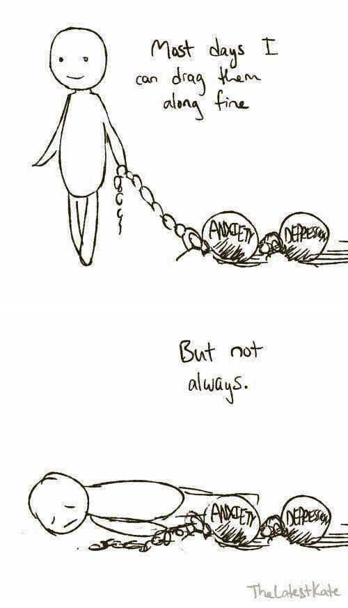 #depression #anxiety