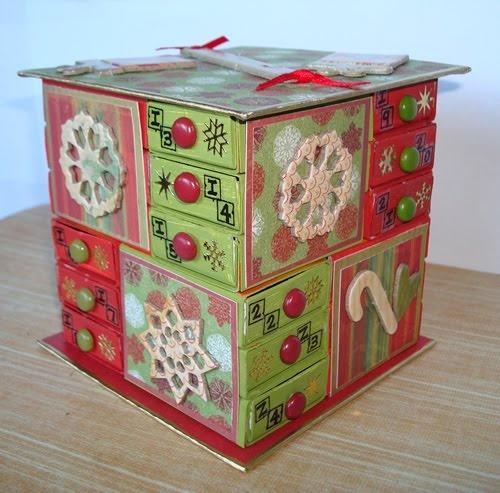 The Messy Crafter: Matchbox Advent Calendar