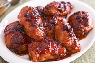 Catalina Cranberry Chicken recipe: chicken breast, catalina dressing, cranberry sauce, and onion