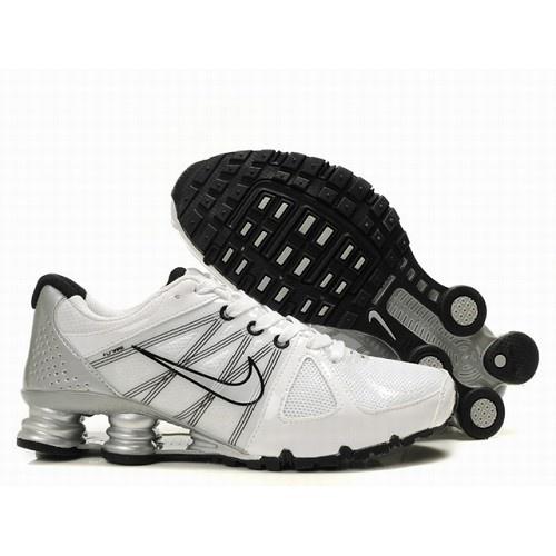 Nike Shox Agent Men WhiteBlackSliver Shoes 1004 For 5760 Go To