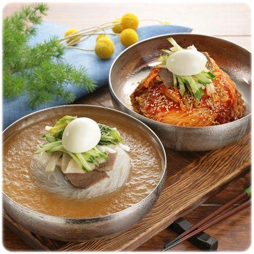 Leckere koreanische Gerichte gegen die Sommerhitze: #Naengmyeon (#냉면) #Koreawelle