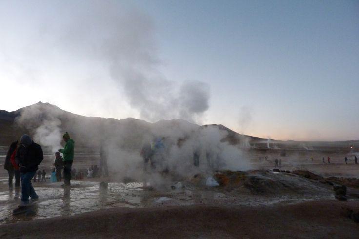 Geyser de Tatio, San Pedro de Atacama. Calama, Chile
