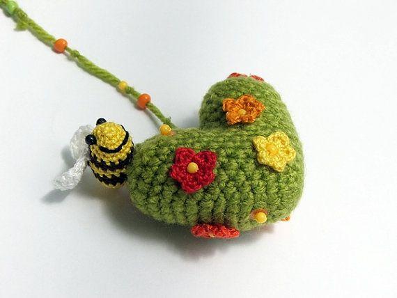 The heart of Spring by spikycake on Etsy, $15.00