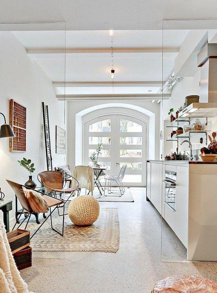 Les 25 meilleures id es concernant couleur taupe clair sur - Photos de loft amenager idees ...