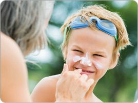 Check out these sun safety tips and always make sure to protect your child's skin from the sun!
